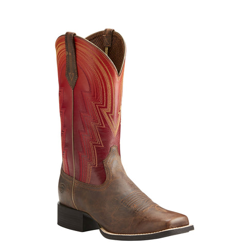 Women's Ariat Round Up Waylon Rodeo Boots #10021587