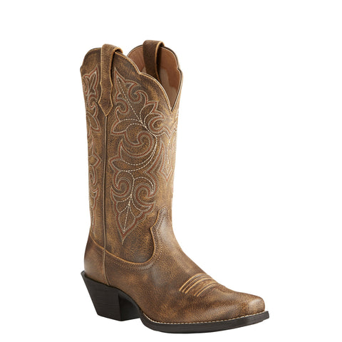 Women's Ariat Round Up Vintage Bomber Boots #10021620