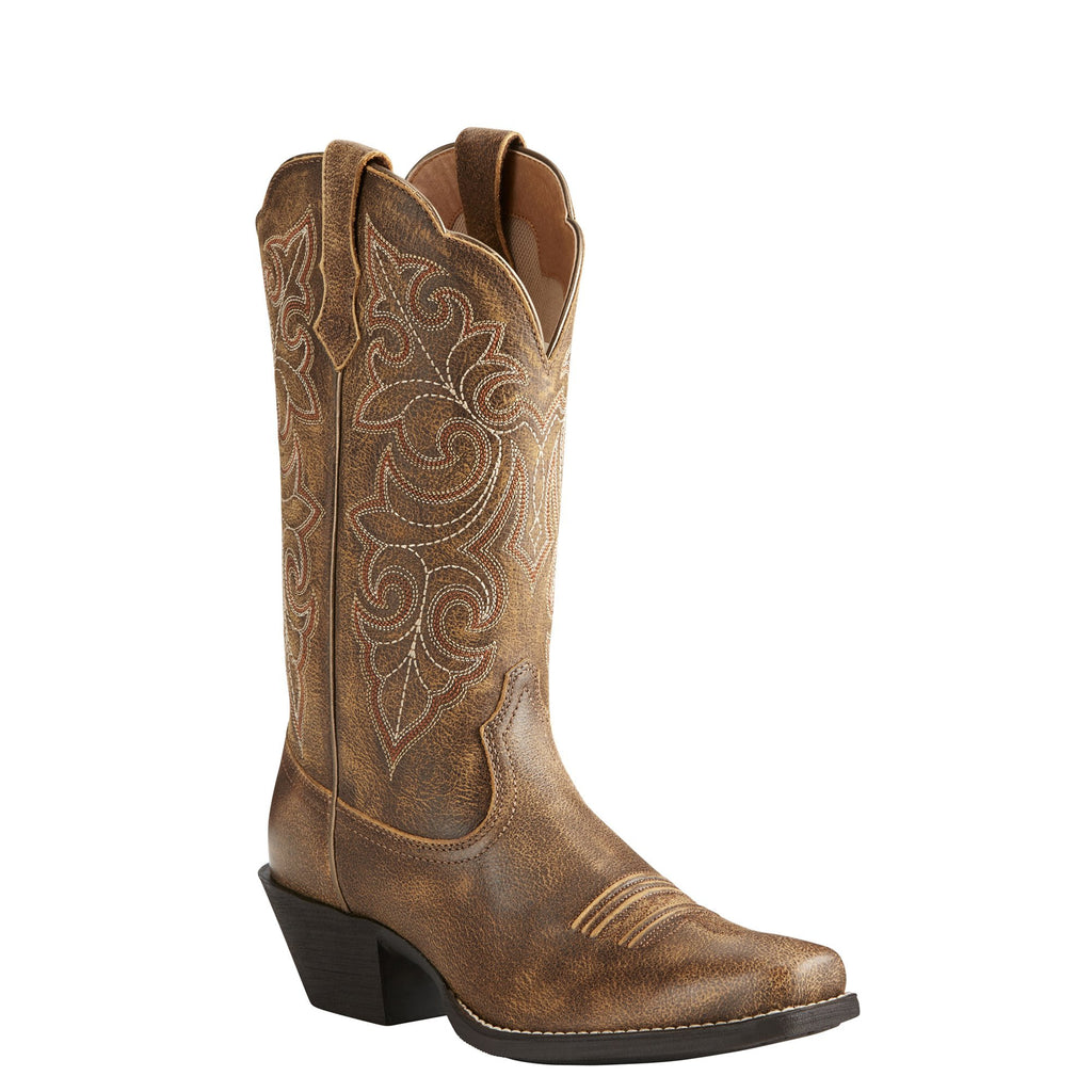 Women's Ariat Round Up Vintage Bomber Boots #10021620 view 1