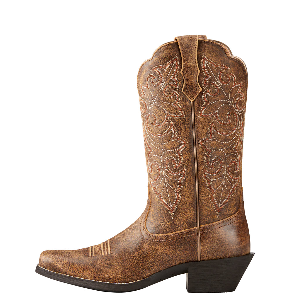 Women's Ariat Round Up Vintage Bomber Boots #10021620 view 4