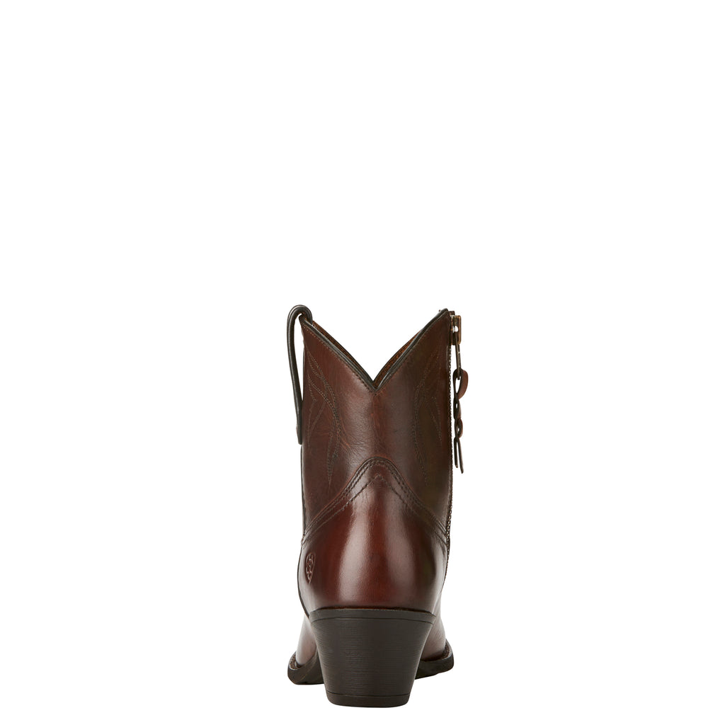 Women's Ariat Darlin Natural Dark Brown Boots #10021621 view 2