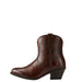 Women's Ariat Darlin Natural Dark Brown Boots #10021621 view 3