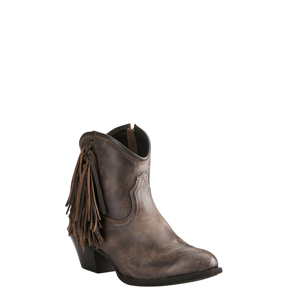 Women's Ariat Duchess Tack Room Chocolate Boots #10021631 view 1