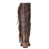 Women's Ariat Leyton Tack Room Chocolate Boots #10021641