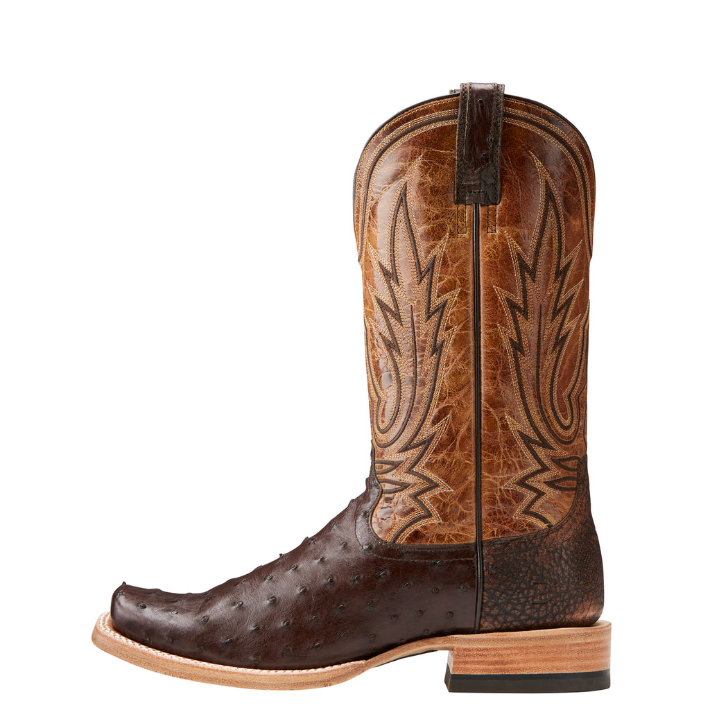 Men's Ariat Boots All Around Full Quill Nicotine #10021668 view 2