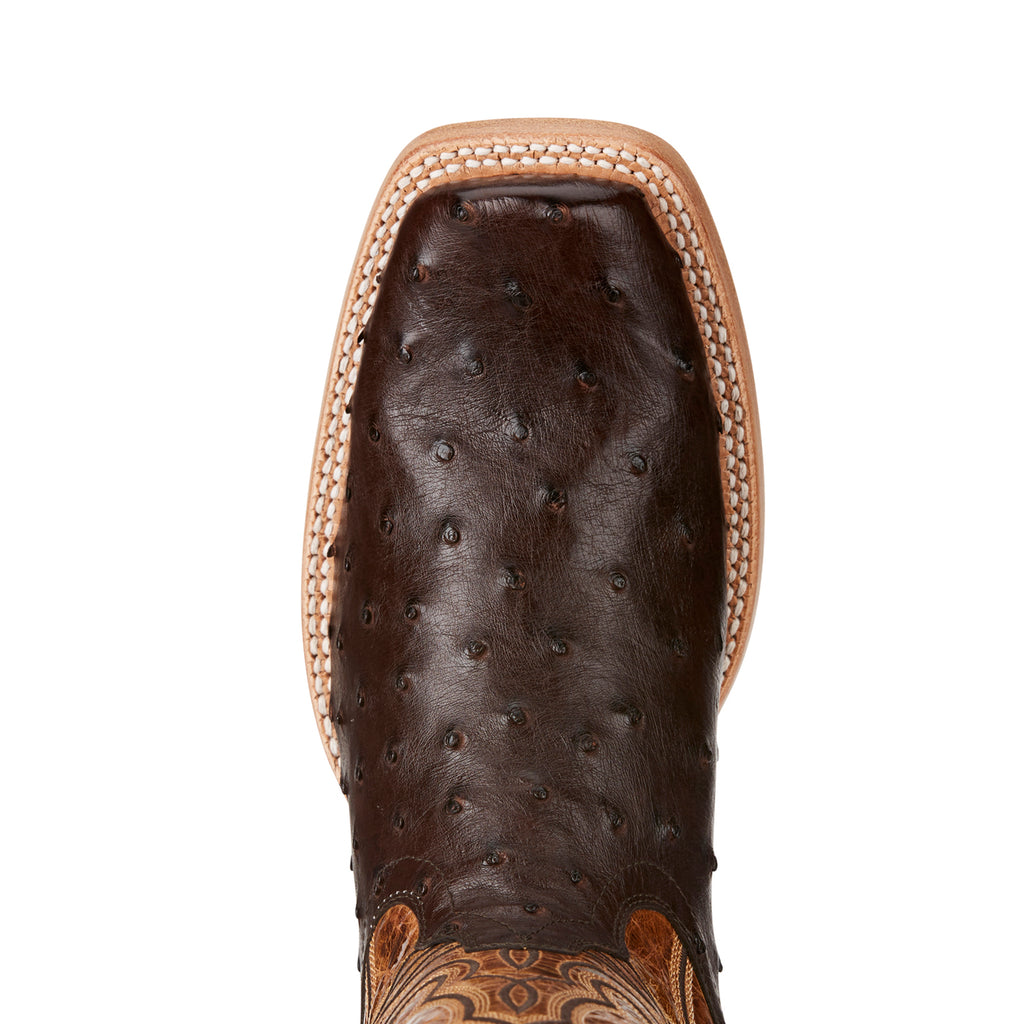 Men's Ariat Boots All Around Full Quill Nicotine #10021668 view 4