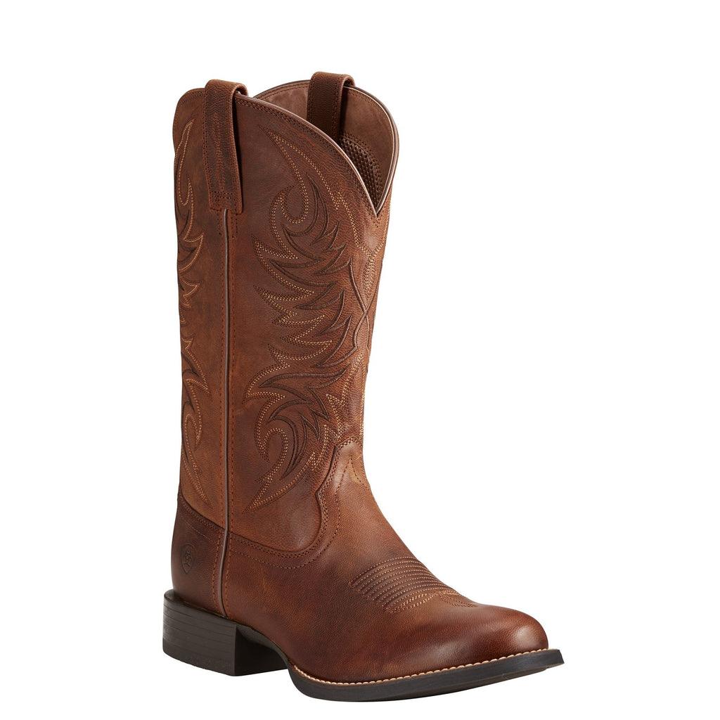 Men's Ariat Boots Sport Horseman Brown #10021700 view 1