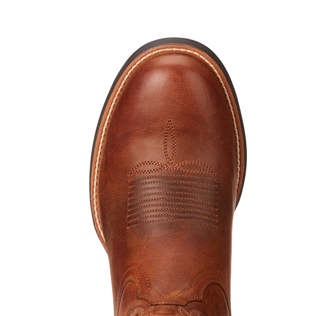 Men's Ariat Boots Sport Horseman Brown #10021700 view 5