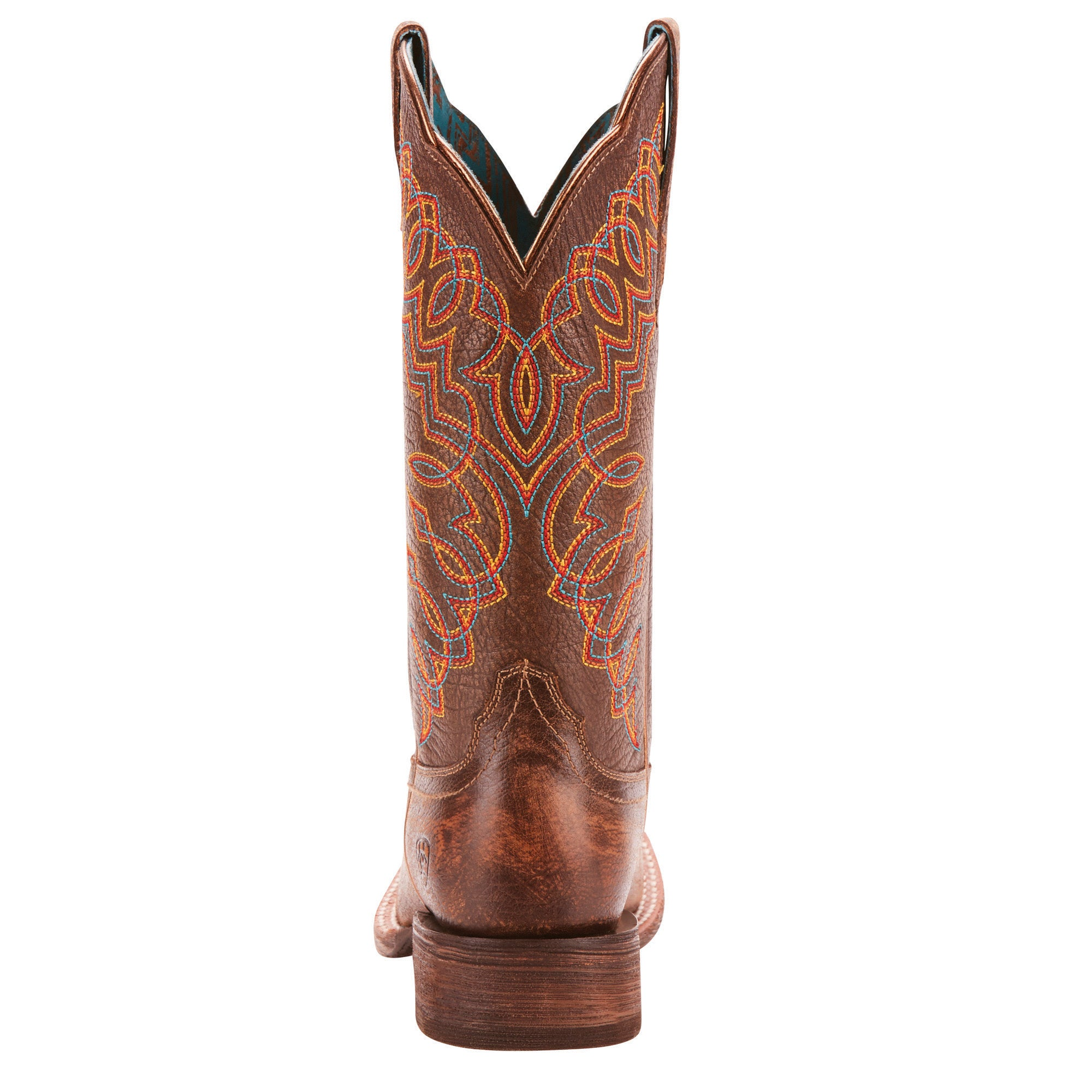 2cf910b9fef ... Women s Ariat Circuit Cisco Western Boot Kickin Brown  10025021 ...