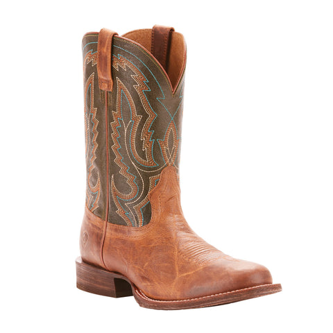 Men's Ariat Circuit Competitor Western Boot Brown #10025079