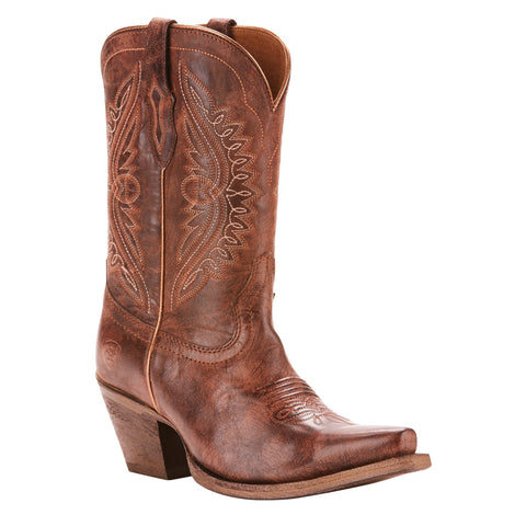 Women's Ariat Circuit Stella Western Boot Cocoa #10025092