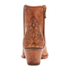Women's Ariat Fenix Western Ankle Boot Distressed Taupe #10025110