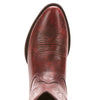 Women's Ariat Heritage R Toe Western Boot Ombre Red #10025124