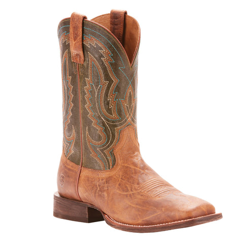 Men S Ariat Circuit Slingshot Boot Brown 10025138
