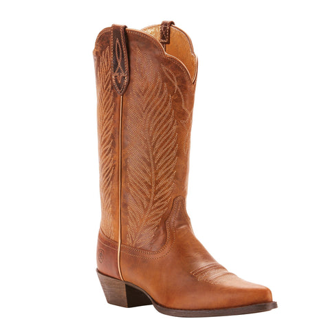 Women's Ariat Round Up Johanna Boot Pearl Brown #10025152