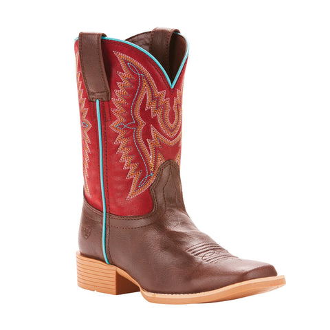 Kid's Ariat Bristo Western Boot Brown #10025161