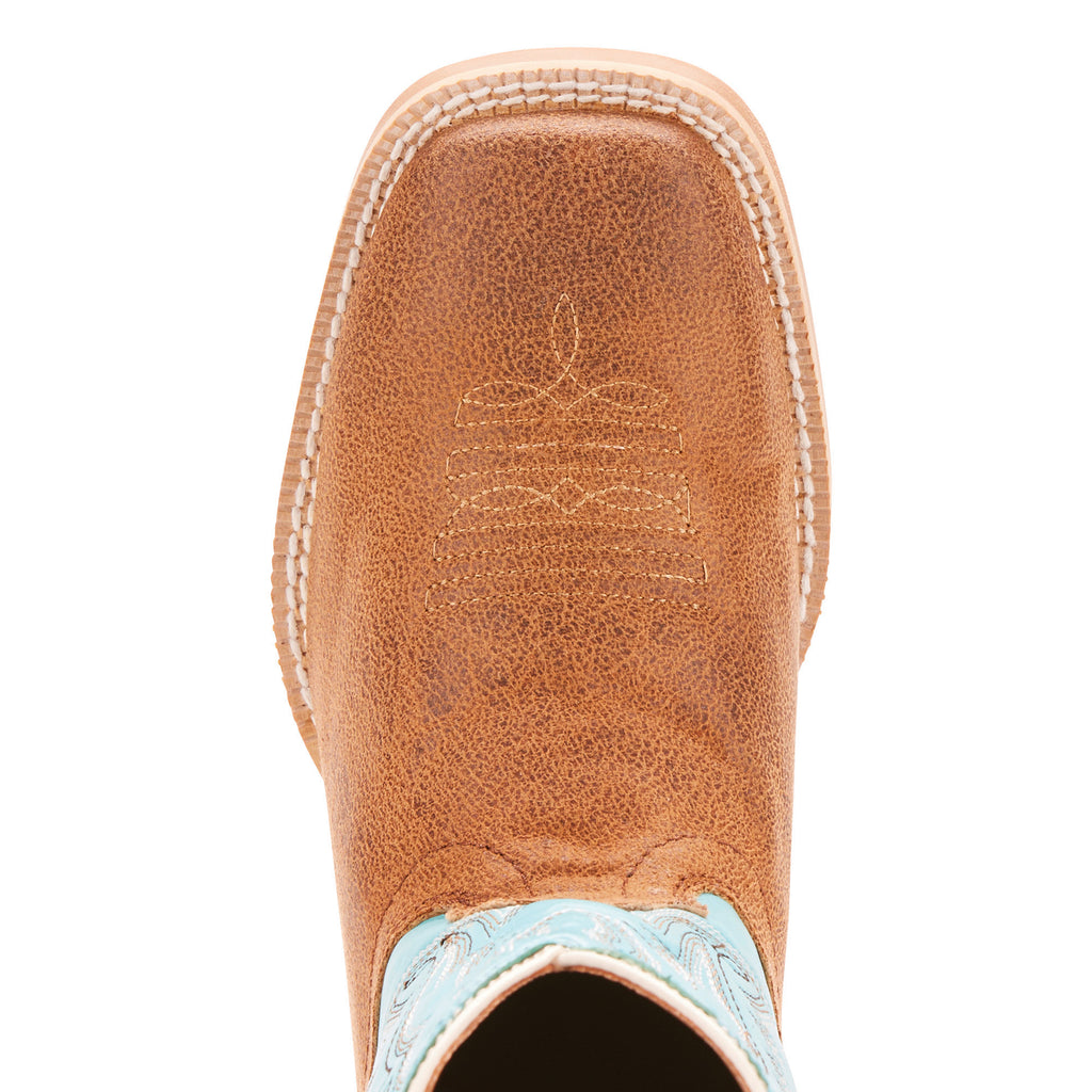 Kid's Ariat Bristo Western Boot Tan #10025167 view 4