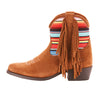 Kid's Ariat Duchess Fringe Boot Brown #10025175