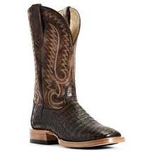 Men's Ariat Relentless Pro Boots Toffee Caiman Belly #10029618