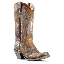 Women's Ariat Circuit Salem Boots Brushed Silver #10029634