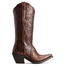 Women's Ariat Platinum Boots Rich Cognac #10029661