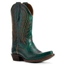 Women's Ariat Tailgate Boots Peacock Blue #10029676