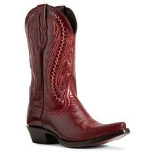 Women's Ariat Tailgate Boots Sangria #10029677