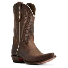 Women's Ariat Tailgate Boots Weathered Rust #10029680