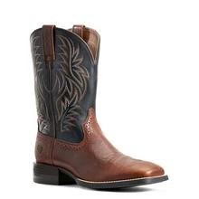 Men's Ariat Sport Western Boots Cognac Candy #10029755 view 1