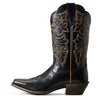 Women's Ariat Round Up Boots Limousine Black #10029756