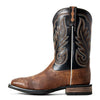 Men's Ariat Promoter Boots Caramello Smooth Quill Ostrich #10029774