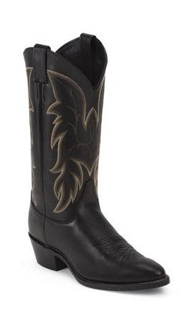 Men's Justin Chester Black Boots #1419