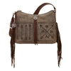 American West Zip-Top Shoulder Bag #2483181