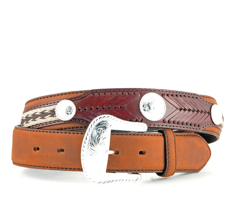 Brighton Leegin Straight Duke Bark Belt #7239L