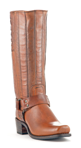 Women's Frye Harness Americana #75158-TAN