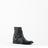 Women's Frye Phillip Harness Short Boots #76504BLK