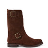 Women's Frye Boots Natalie Mid Engineer #78510-BRN