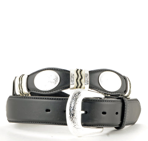 Brighton Leegin Black Cutting Champ Belt #9113L