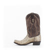 Men's Corral Natural Rattlesnake Boots #A2487