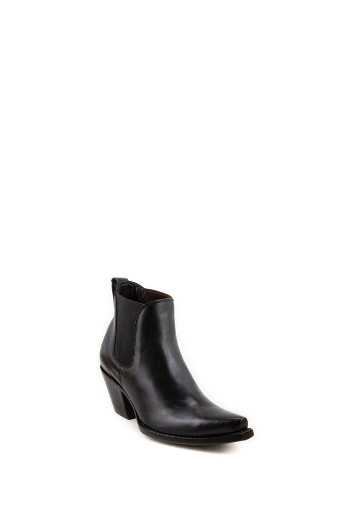 Women's Allens Brand Chelsea Boots Black #ALL-CHELSEA5ST-1 view 1