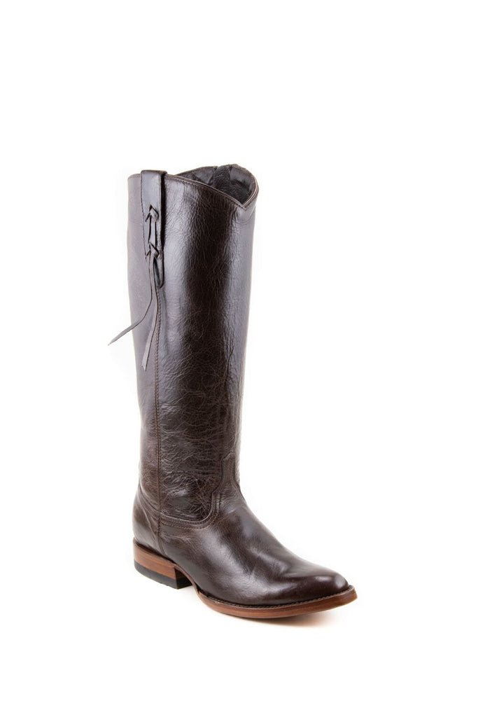 Women's Allens Brand Ginger Boots Black Cherry #ALL-GINGERFR14-3 view 1