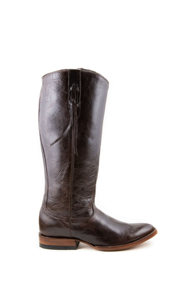 Women's Allens Brand Ginger Boots Black Cherry #ALL-GINGERFR14-3 view 2