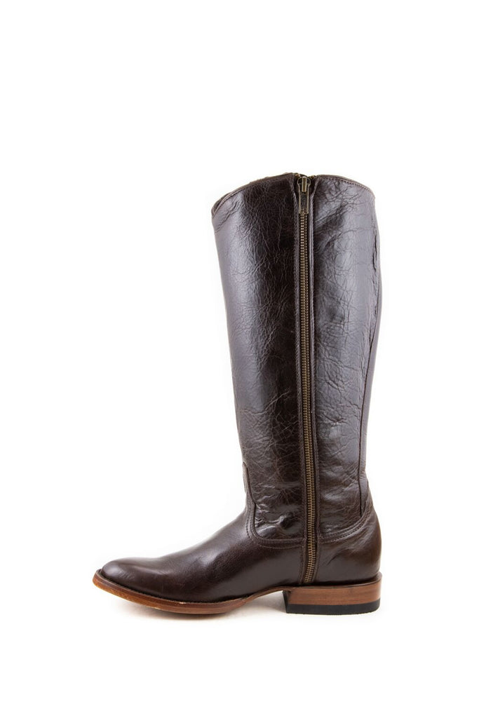 Women's Allens Brand Ginger Boots Black Cherry #ALL-GINGERFR14-3 view 4
