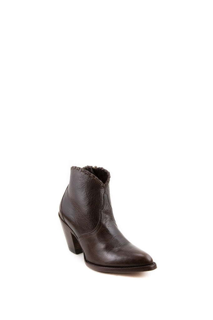 Women's Allens Brand Kyra Boots Dark Brown #ALL-KYRAAM0023-1 view 1