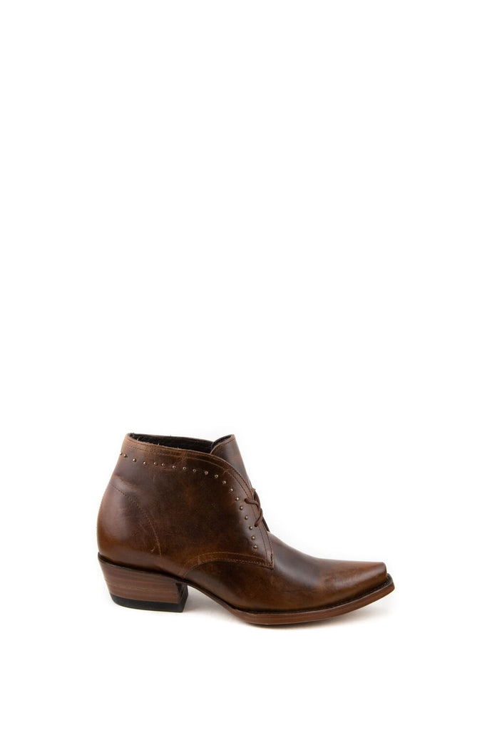 Women's Allens Brand Mason Bootes Tan #ALL-MASON5ST-1 view 3
