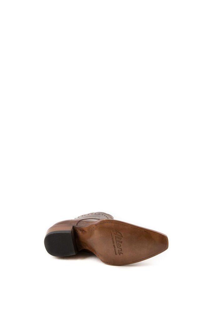 Women's Allens Brand Mason Bootes Tan #ALL-MASON5ST-1 view 7