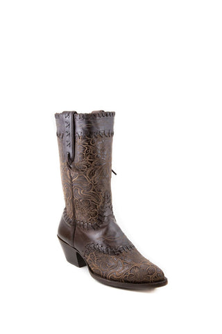 Women's Allens Brand Mia Boots Chocolate #ALL-MIA10JKSP-A