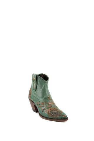 Women's Allens Brand Ree Boots Turquoise #ALL-REE5FR-3