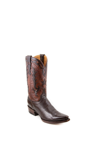 Men's Allens Brand Shelby Boots Nicotine/Tan #ALM-SHELBY12MS-1