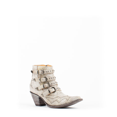 Women's Old Gringo Roxy Boots Crackled Milk #BL2794-7
